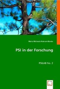 PSI in der Forschung