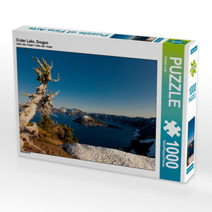 Crater Lake, Oregon 1000 Teile Puzzle quer