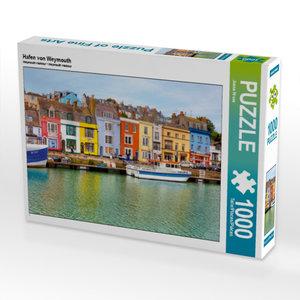 Hafen von Weymouth 1000 Teile Puzzle quer