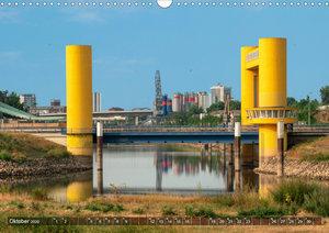Kumm üwwer die Brück - Mannheimer Brücken (Wandkalender 2020 DIN