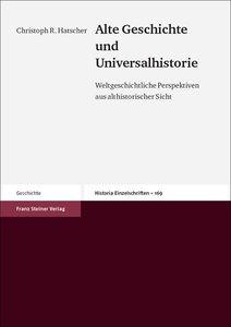 Alte Geschichte und Universalhistorie