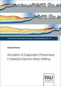 Simulation of Evaporation Phenomena in Selective Electron Beam M