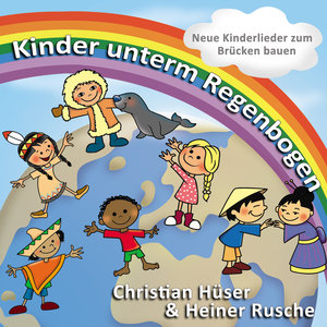 Kinder unterm Regenbogen