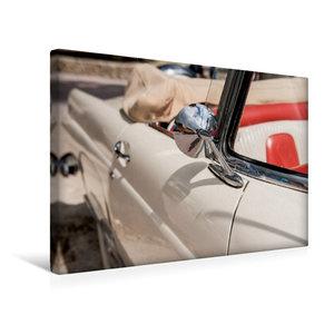 Premium Textil-Leinwand 45 cm x 30 cm quer Ford Thunderbird Conv