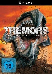 Tremors 1-6, 6 DVD
