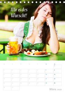 Impressionen aus Bayern mit bayrischen Sprüchen (Tischkalender 2