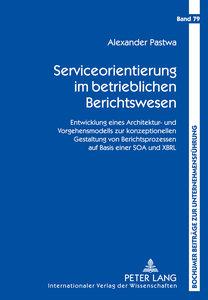 Serviceorientierung im betrieblichen Berichtswesen