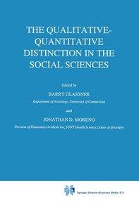 The Qualitative-Quantitative Distinction in the Social Sciences