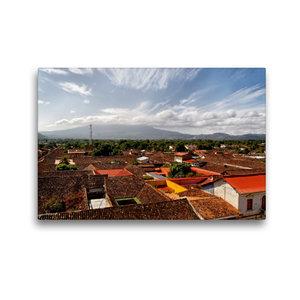 Premium Textil-Leinwand 45 cm x 30 cm quer Granada, Nicaragua