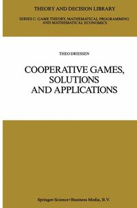 Cooperative Games, Solutions and Applications