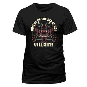 Villains (T-Shirt,Schwarz,Größe M)