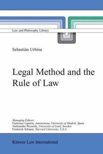 Legal Method and the Rule of Law