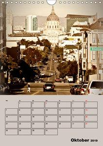 Herrliches Reiseziel... SAN FRANCISCO (Wandkalender 2019 DIN A4