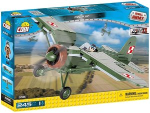 Cobi 5515 - Small Army, PZL P.11C, Grundjagdflugzeug, Konstrukti