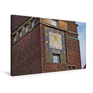 Premium Textil-Leinwand 90 cm x 60 cm quer Hochzeitsturm Mathild