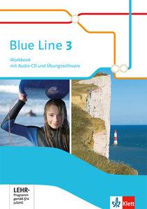 Blue Line / Workbook mit Audio-CD und Übungssoftware 7. Schuljah