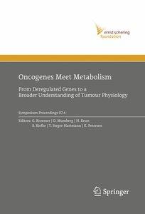 Oncogenes Meet Metabolism