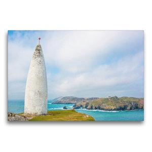 Premium Textil-Leinwand 75 cm x 50 cm quer Baltimore Beacon