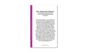 «Helvetisches Malaise» von Max Imboden