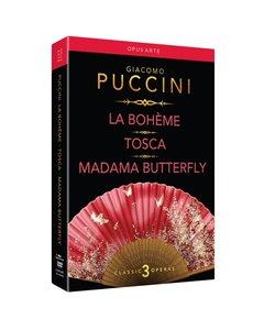 La Boheme/Tosca/Madama Butterfly