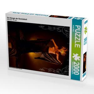 Die Königin der Sinnlichkeit 2000 Teile Puzzle hoch