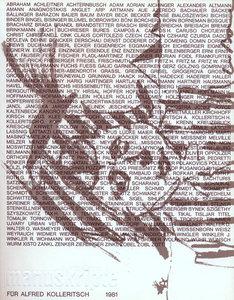 Manuskripte für Alfred Kolleritsch