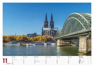Köln 2020 Bildkalender quer
