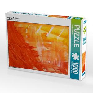 CALVENDO Puzzle Weg zur Freiheit 1000 Teile Lege-Größe 48 x 64 c