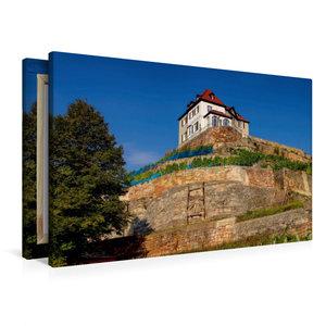 Premium Textil-Leinwand 90 cm x 60 cm quer Steinernes Album, Nau