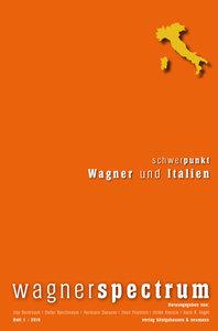 wagnerspectrum Heft 1 / 2010
