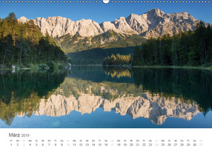 Alpine Seelandschaften (Wandkalender 2019 DIN A2 quer)