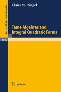 Tame Algebras and Integral Quadratic Forms