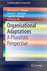 Organisational Adaptations