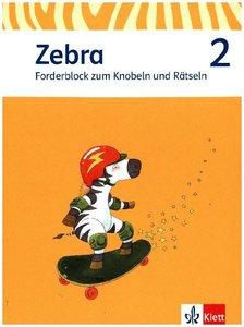 Zebra. Forderheft Sprache/Lesen 2. Schuljahr. Neubearbeitung