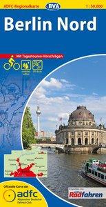 ADFC-Regionalkarte Berlin Nord 1 : 50 000
