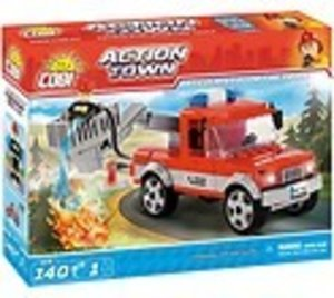 COBI 1479 - ACTION TOWN, Articulated Boom Fire Truck, Feuerwehr