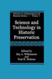 Science and Technology in Historic Preservation