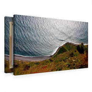 Premium Textil-Leinwand 75 cm x 50 cm quer Cabo Girão