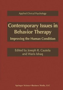 Contemporary Issues in Behavior Therapy