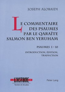 Le commentaire des psaumes par le qaraïte Salmon ben Yeruham