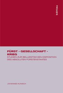 Fürst - Gesellschaft - Krieg