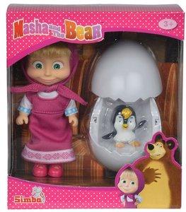 Masha Pinguin im Ei