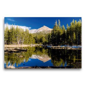Premium Textil-Leinwand 75 cm x 50 cm quer Yosemite Nationalpark