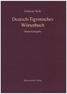 Deutsch-Tigrinisches Wörterbuch