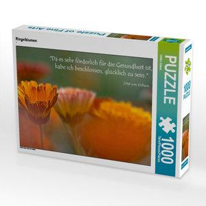 Ringelblumen 1000 Teile Puzzle quer