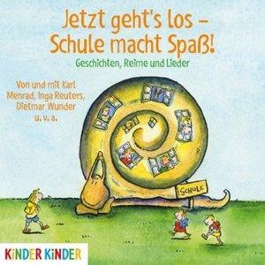 Jetzt geht\'s los - Schule macht Spaß!, 1 Audio-CD