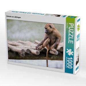 CALVENDO Puzzle Einfach nur abhängen 1000 Teile Lege-Größe 64 x