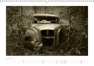 Der Oldtimer - geliebt und vergessen (Wandkalender 2019 DIN A3 q