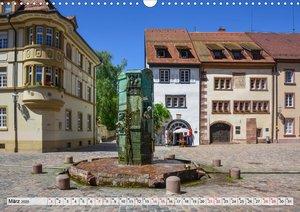Villingen-Schwenningen - Kultur und Natur im Einklang (Wandkalen