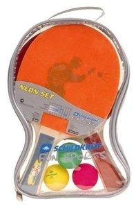 Donic Schildkröt 788695 - Tischtennis-Set Neon